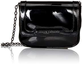 Armani Exchange A X Small Patent Crossbody Bag