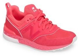 New Balance Girl's 574 V2 Sport Sneaker