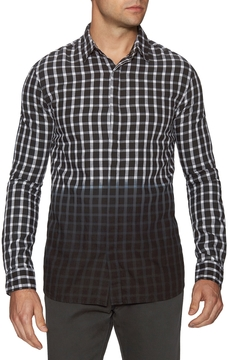 Eleven Paris Men's Checkered Sportshirt