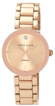 Anne Klein Women's Mirror Bezel Bracelet Watch, 32Mm