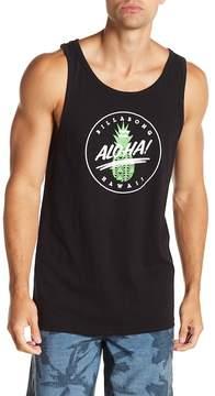 Billabong Aloha Graphic Print Tailored Fit Tank Top