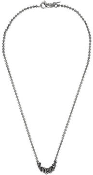 Emanuele Bicocchi Silver Throttle Chain Necklace