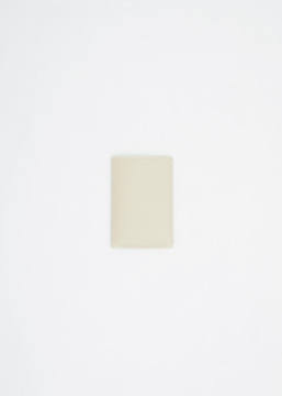 Comme des Garcons WALLET off white classic leather wallet