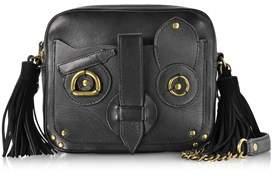 Jerome Dreyfuss Women's Black Leather Shoulder Bag.
