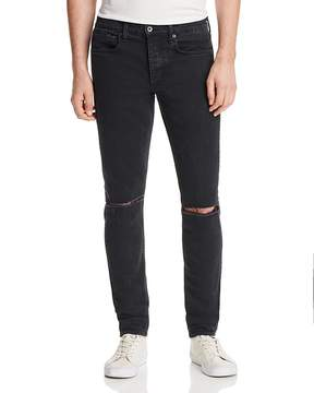 Rag & Bone Fit 1 Super Slim Fit Distressed Jeans in Shelter