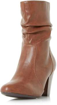 Head Over Heels *Head Over Heels by Dune Tan Ronni Heeled Boots