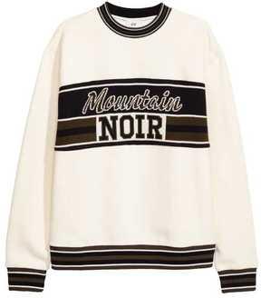 H&M Jacquard-patterned Sweatshirt