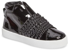 KENDALL + KYLIE Women's Duke Chain High Top Sneaker