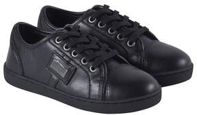 Dolce & Gabbana Classic Black Branded Trainers