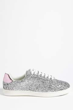 Forever 21 Glitter Low-Top Sneakers