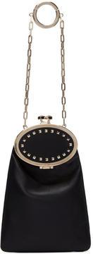 Valentino Black Garavani Vanity Charm Clutch