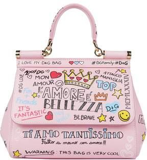 Dolce & Gabbana Mini Sicily Handbag