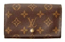 Louis Vuitton Monogram Canvas Porte Tresor Wallet. - NO COLOR - STYLE