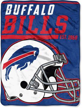 Northwest Company Buffalo Bills Micro Raschel 46x60 40 Yard Dash Blanket