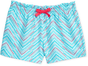 First Impressions Geo-Print Ruffle-Waist Cotton Shorts, Baby Girls (0-24 months), Created for Macy's