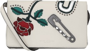 MARC JACOBS Leather Strap Wallet