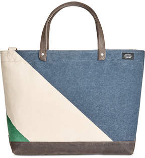 Jack Spade Men's Industrial Canvas Diagonal Dipped Coal Bag