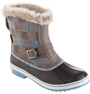 L.L. Bean Women's Waterproof Rangeley Pac Boots, Mid Print Insulated