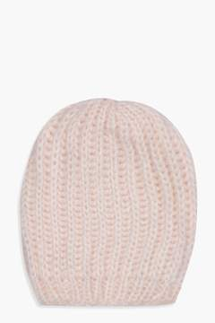 boohoo Chunky Knit Beanie