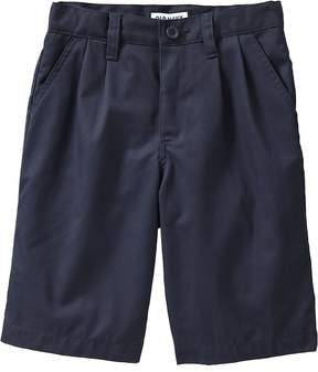 Old Navy Pleated Uniform Shorts for Boys