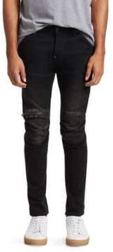 G Star 5620 3D Skinny Zip Knee Jeans