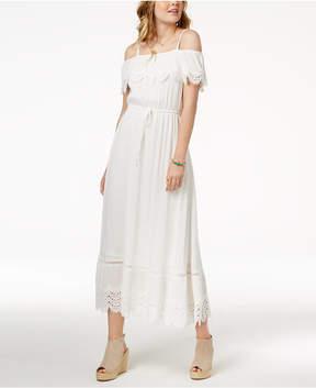 American Rag Juniors' Ruffled Maxi Dress, Created for Macy's