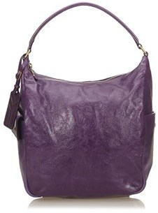 Saint Laurent Pre-owned: Leather Hobo Bag. - PURPLE - STYLE