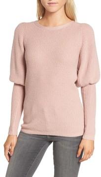 Chelsea28 Women's Puff Sleeve Sweatser