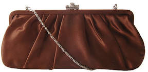 J. Furmani Women's 20290 Pleated Satin Clutch