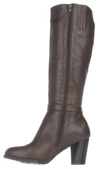 Giani Bernini Womens Raiven Leather Closed Toe Knee High Fashion Boots Fashio....