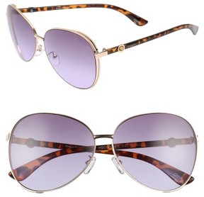 Sam Edelman Women's Satellite 51Mm Aviator Sunglasses - Gold