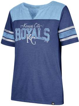 '47 Women's Kansas City Royals Match Tri-Blend Tee