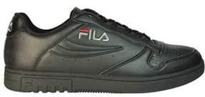 Fila Men's Black Leather Sneakers.