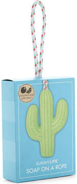 Sunnylife Cactus soap on a rope
