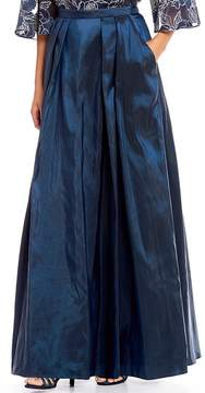 Alex Evenings Long Taffeta Full Skirt
