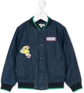 Kenzo patch bomber jacket