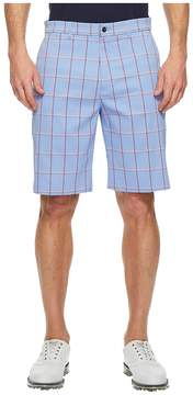 Callaway Herringbone Plaid Shorts Men's Shorts