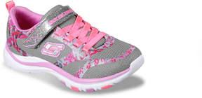 Skechers Girls Trainer Lite Bright Racer Toddler & Youth Sneaker