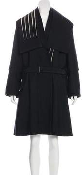 Ann Demeulemeester Wool-Blend Belted Coat