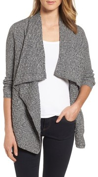 Chaus Women's Mixed Cotton Knit Cardigan