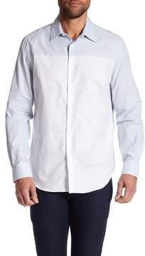 Perry Ellis Colorblock Regular Fit Shirt