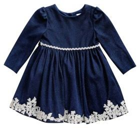 Sweet Heart Rose Sweetheart Rose Baby Girl's Knit Glitter Dress