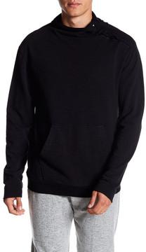 Drifter Vitry Mock Neck Slub Knit Sweatshirt