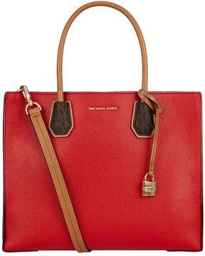 Michael Kors Large Mercer Tote Bag - RED - STYLE