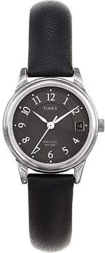 Timex Women's | Black Dial & Leather Strap | Dress Watch T29291