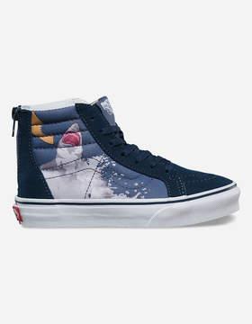 Vans Shark Attack Sk8-Hi Zip Kids Shoes