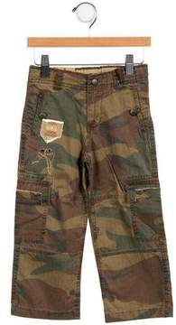 Ikks Boys' Camouflage Cargo Pants w/ Tags
