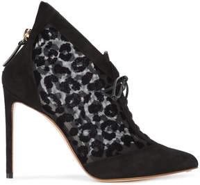 Francesco Russo leopard print boots