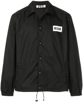 MSGM lightweight logo jacket