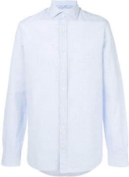 Hackett dot print shirt